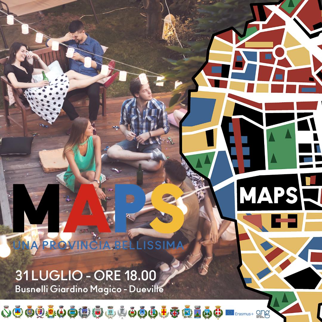MAPS: una provincia bellissima. Evento conclusivo