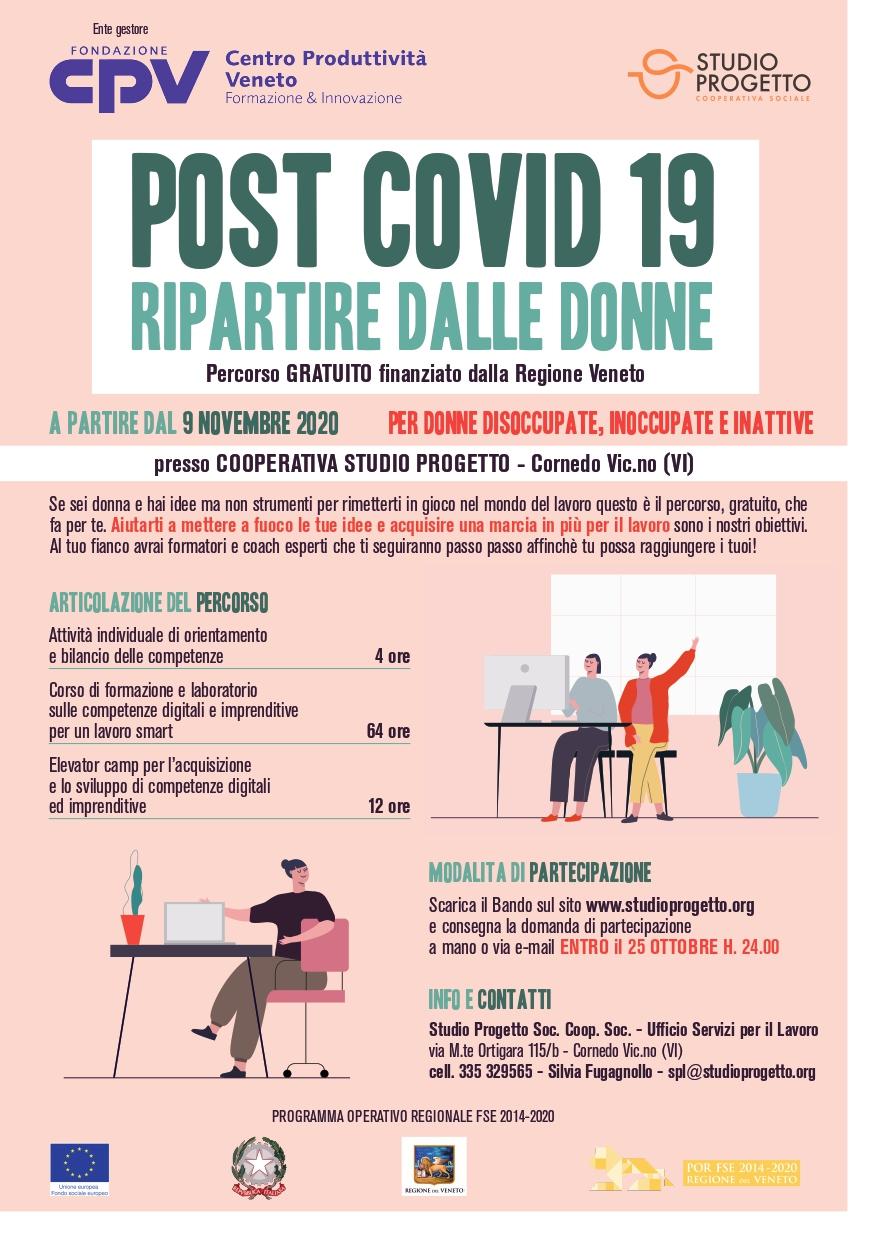 POST COVID 19: RIPARTIRE DALLE DONNE