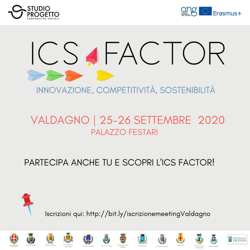 ICS Factor: Innovazione, Competitività, Sostenibilità. secondo meeting provinciale