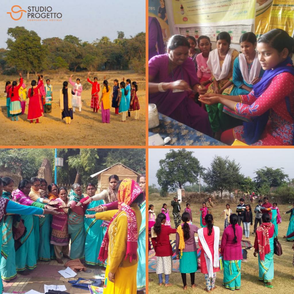 Studio progetto a sostegno delle giovani donne indiane