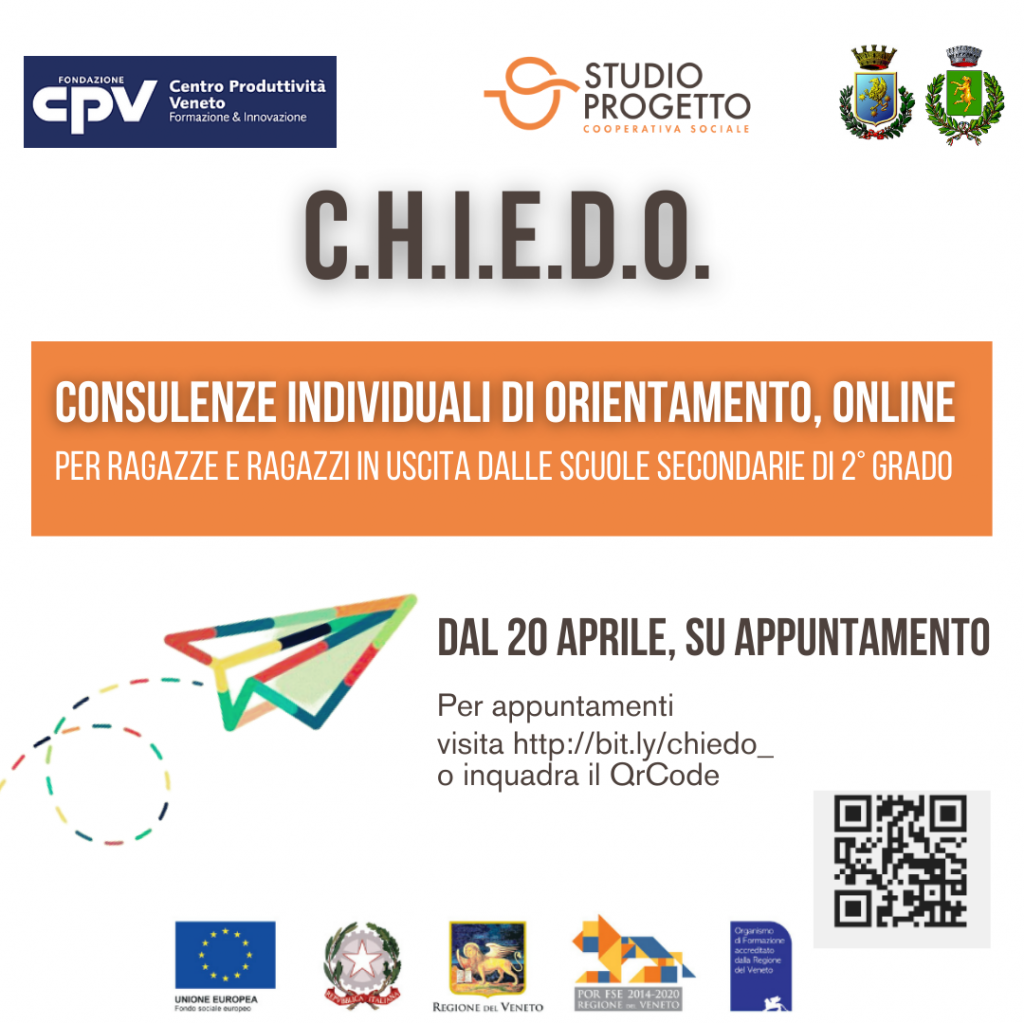 C.H.I.E.D.O. – COLLOQUI DI ORIENTAMENTO ONLINE