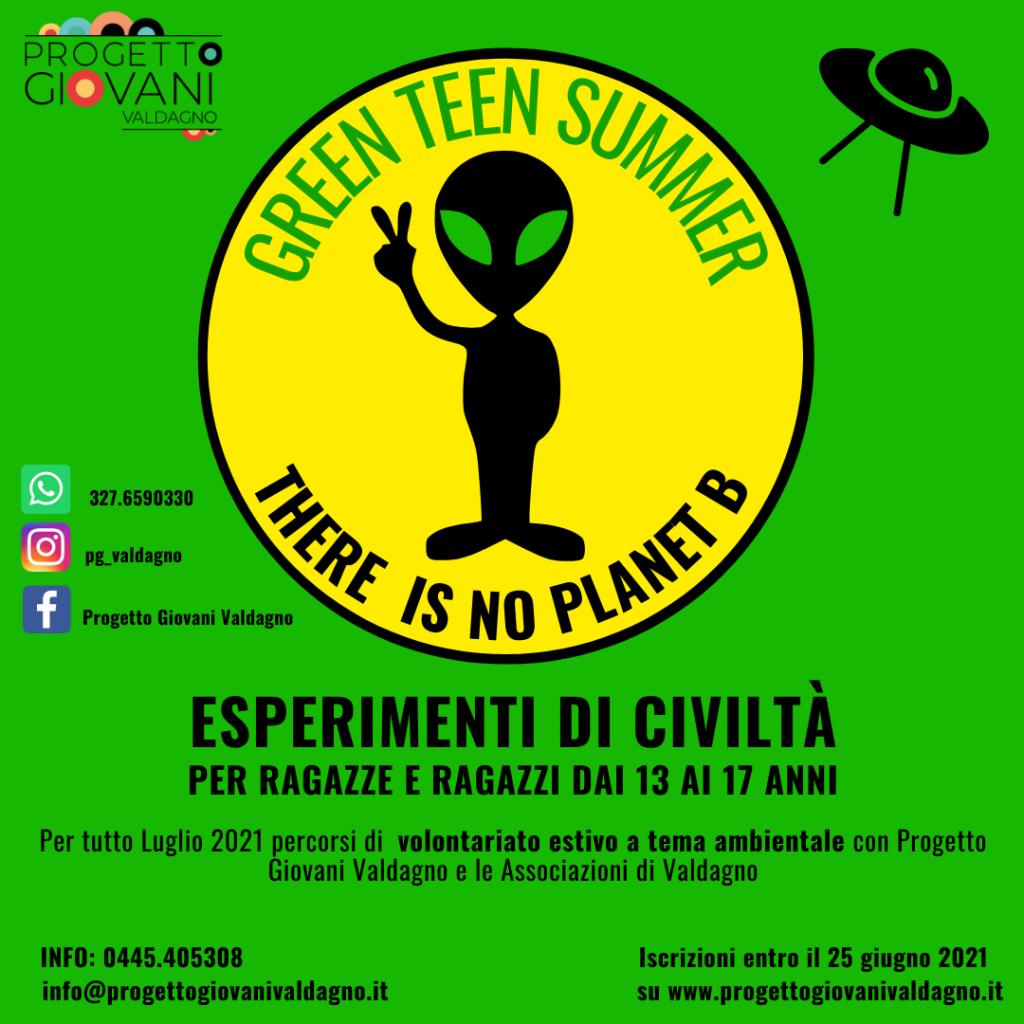 Green teen summer