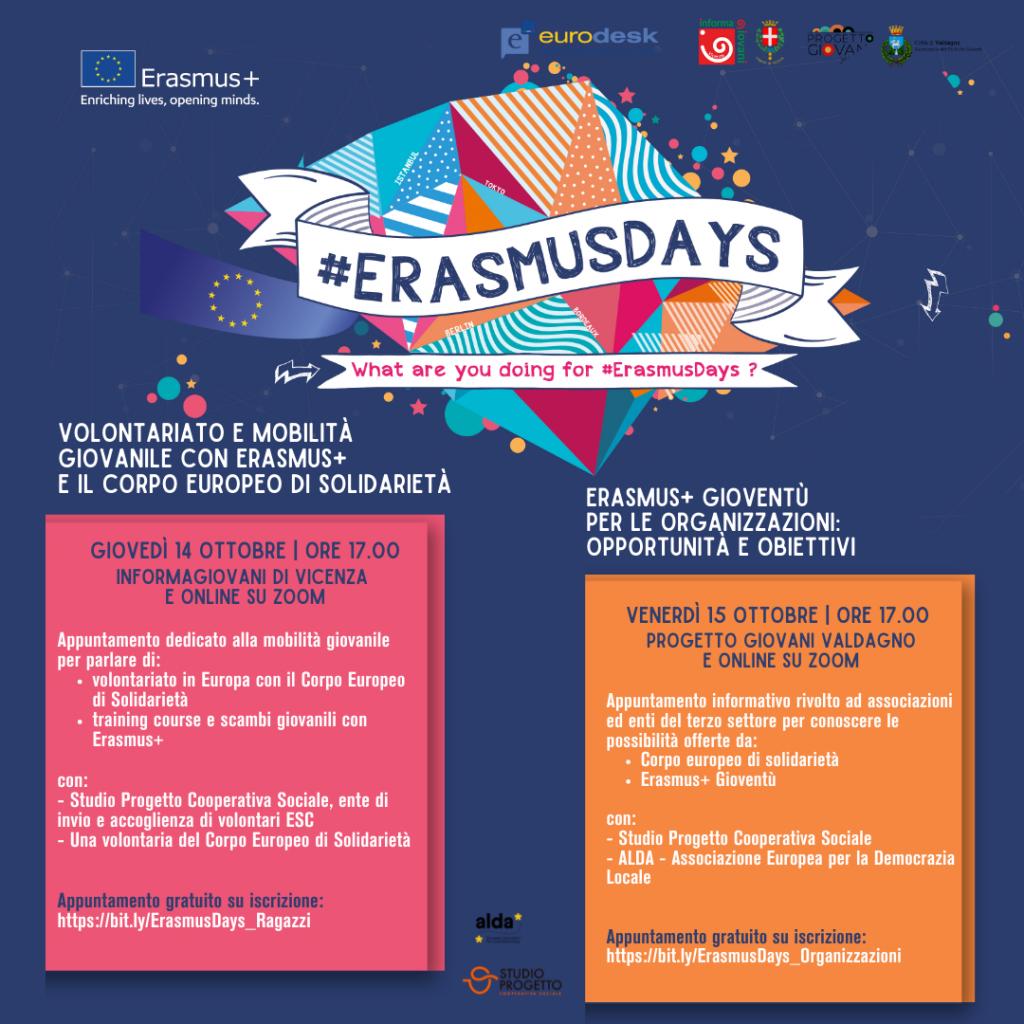 Erasmus+ days: Mobilità giovanile, progettazione europea